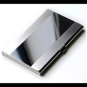 Business card holder professional stainless New